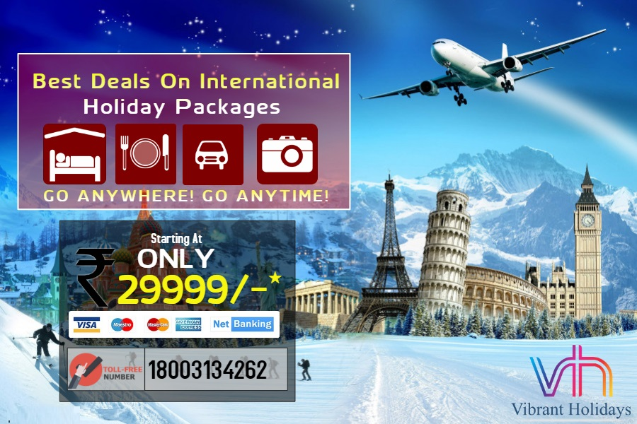 Deals on International Holiday Packages