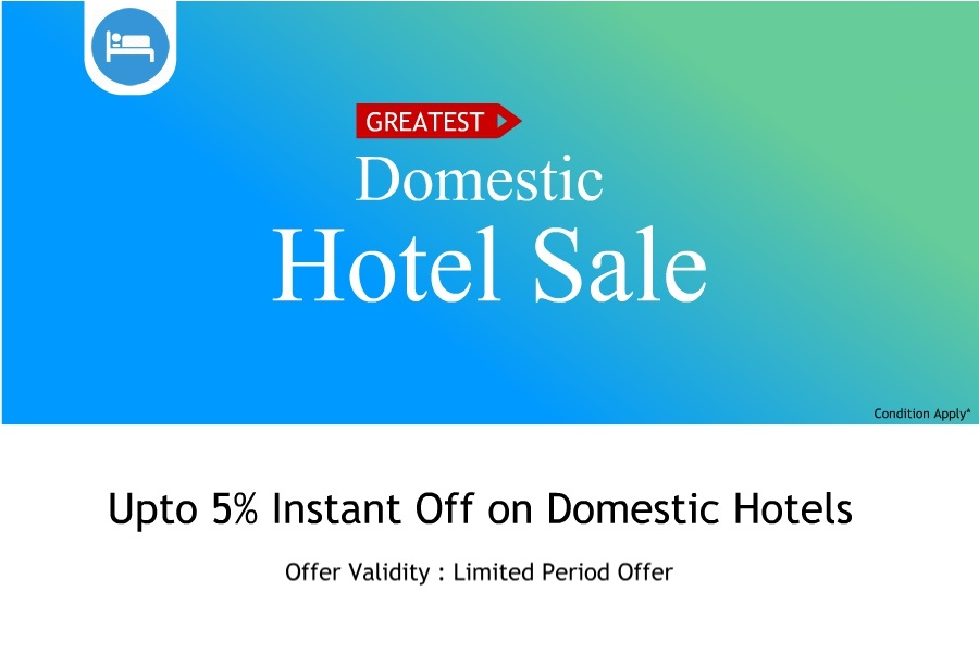Deals On Domestic Hotel